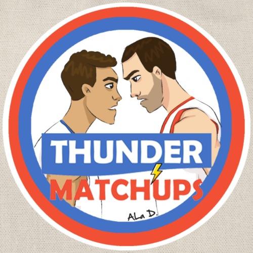 Thunder Matchups Logo - Sacca sportiva