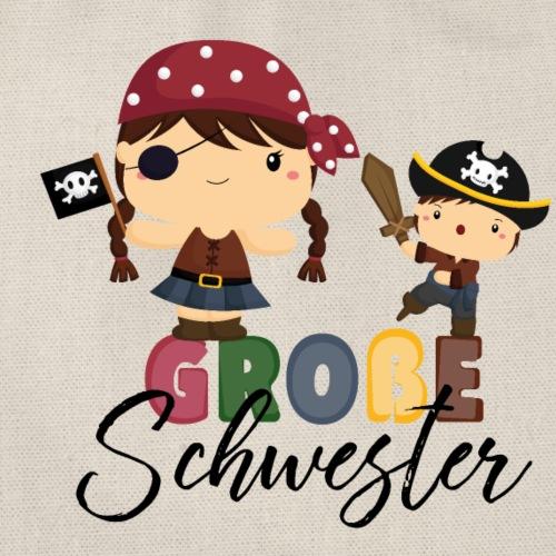 Große Schwester Piraten - Turnbeutel