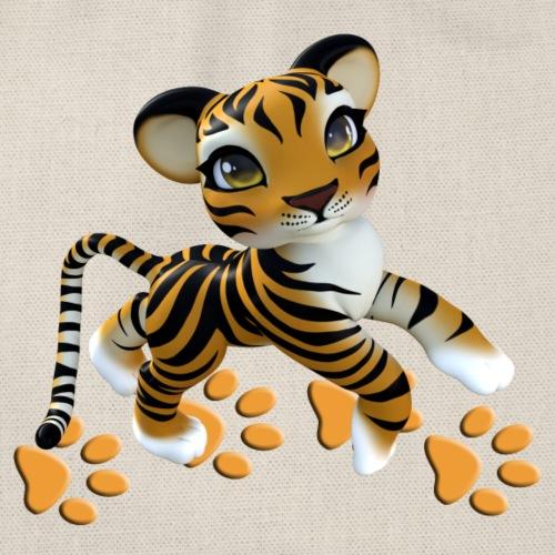 Kleiner Tiger - Turnbeutel