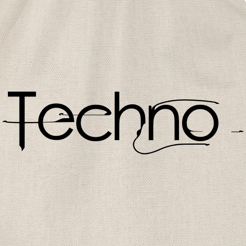 Techno - Drawstring Bag