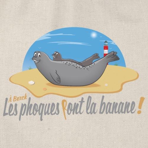 A Berck, les Phoques Font la banane! - Sac de sport léger