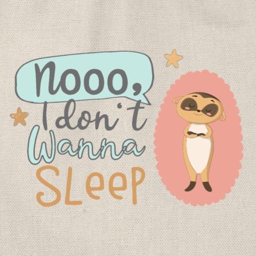 Kleines freches Erdmännchen will nicht schlafen