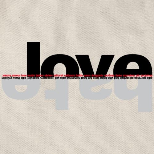 love hate okk - Sacca sportiva