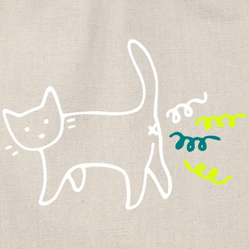 konfetti Cat - Turnbeutel
