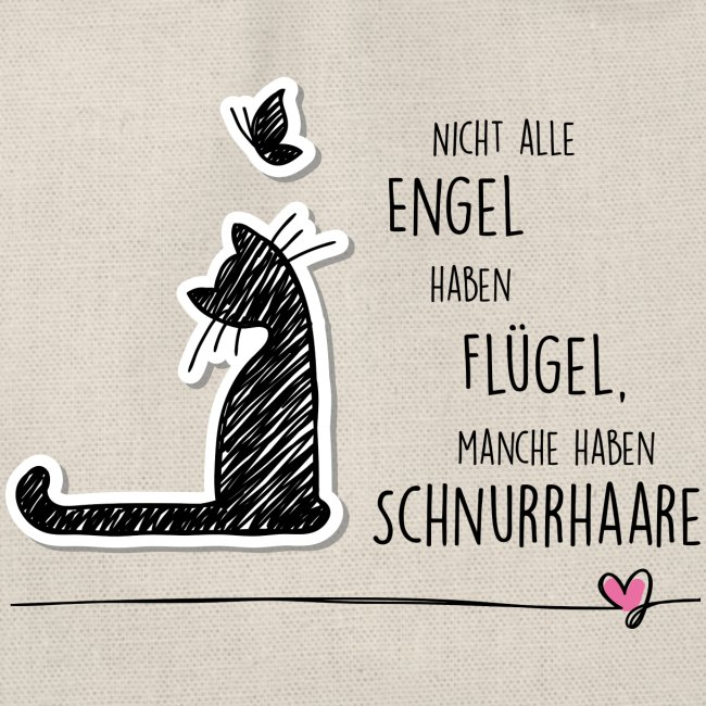 Vorschau: CAT ANGEL - Turnbeutel