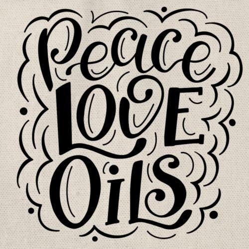 Peace Love Oils - Turnbeutel