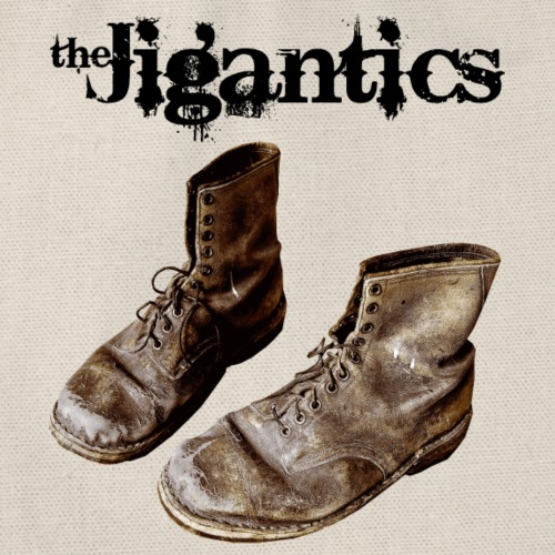 The Jigantics boot logo - black - Drawstring Bag
