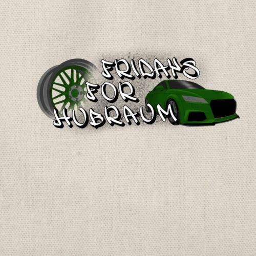 Fridays for Hubraum (Felge + Auto) - Turnbeutel