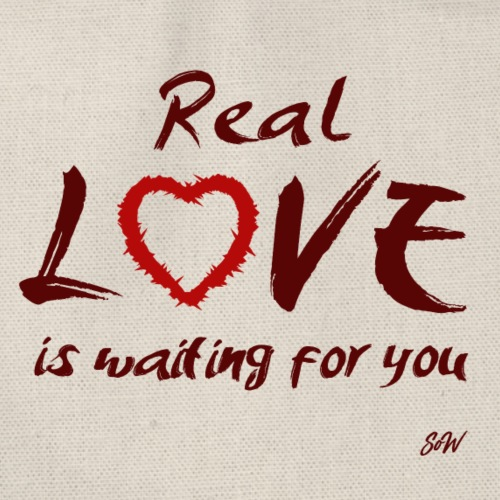 Real love is waiting for you - Sac de sport léger