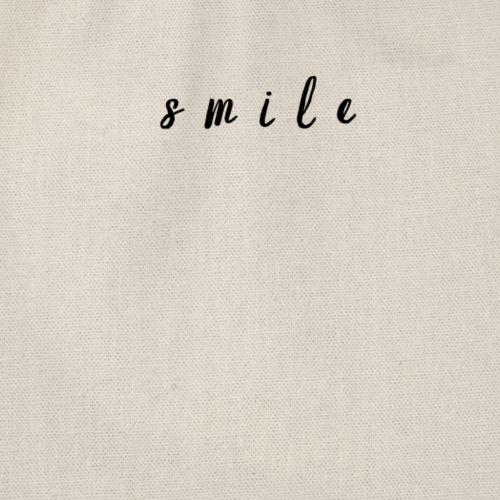 Smile. - Turnbeutel