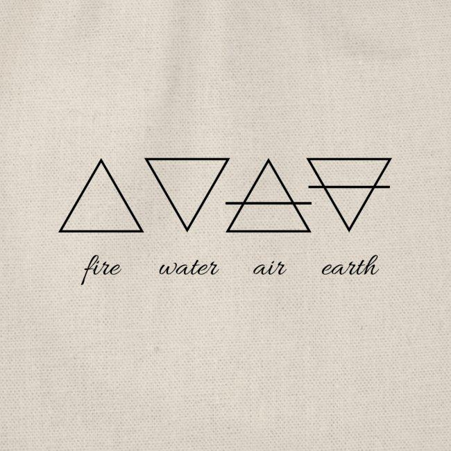 Vier Elemente.