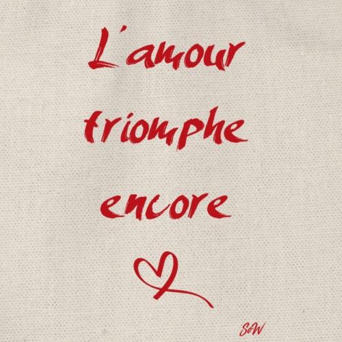 L'amour triomphe encore - Sac de sport léger