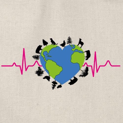 Der Herzschlag unserer Mutter Erde wird langsamer - Turnbeutel