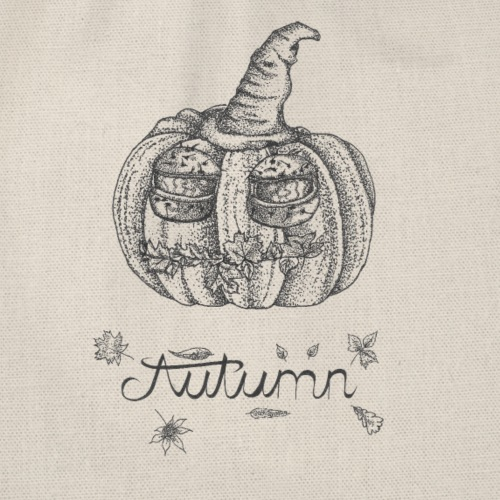 Autumn - herbstlicher Kürbiskopf