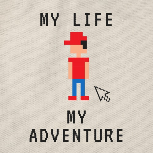 MY LIFE - MY ADVENTURE - by Life to go - Turnbeutel