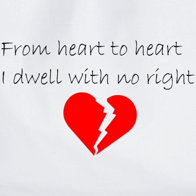 I dwell with no right