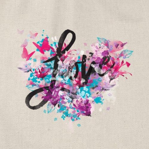 Love Bloemen Vlinders - Gymtas