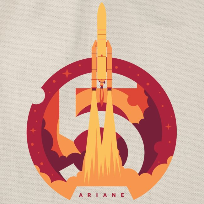 Ariane 5 - Lift off By Fugstrator