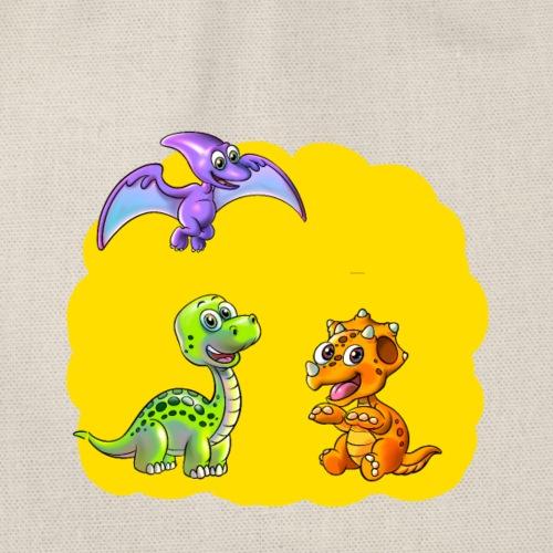 Dino 3 Dinos - Turnbeutel