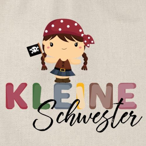 Kleine Schwester Pirat - Turnbeutel