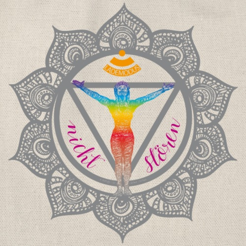 Yoga-Sonnengruß-Chakra - Turnbeutel