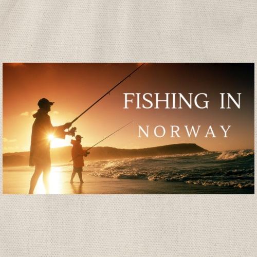Angeln in Norwegen - Turnbeutel