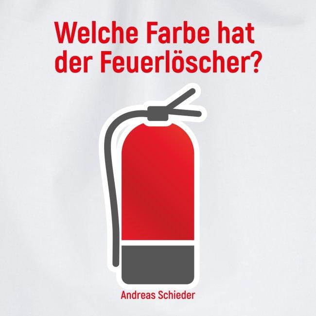 Feuerlöscher weiß