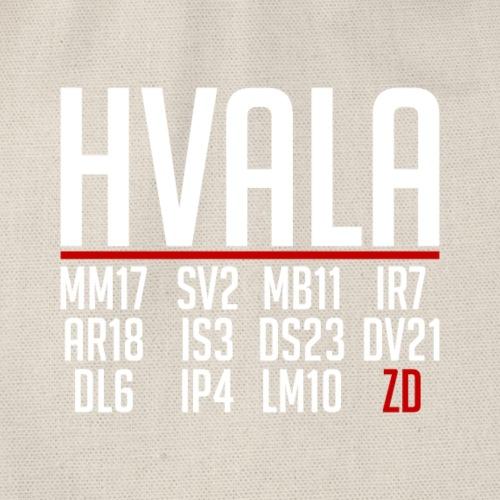 Hvala Dečki za 11.07.18 Shirt Hrvatska Neopisivo - Turnbeutel