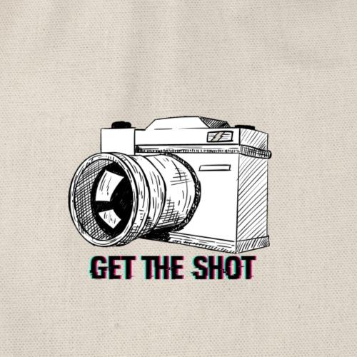 GET THE SHOT LOGO - Turnbeutel