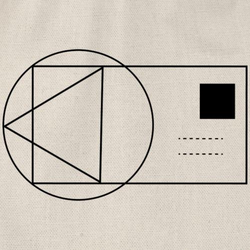 geometrix card single - Turnbeutel