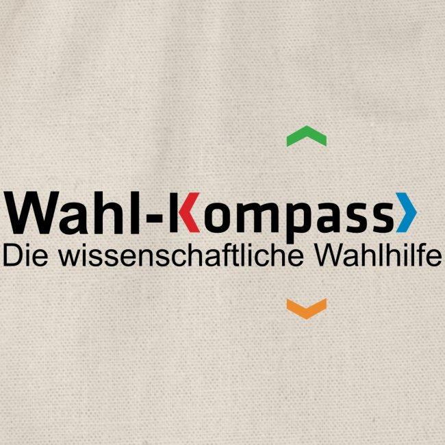 Wahl-Kompass Logo mit Slogan
