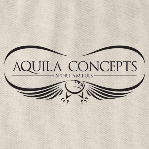 AQUILA CONCEPTS Black - Turnbeutel
