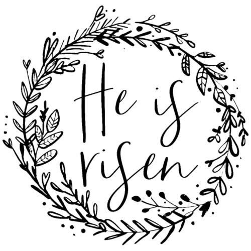 He is risen - Turnbeutel