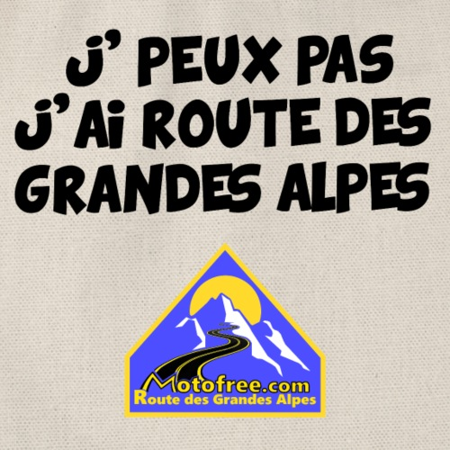 j'peux pas, j'ai route des Grandes Alpes - Sac de sport léger