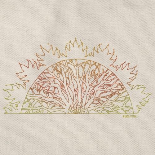 Colourful Arbor Vitae - Turnbeutel