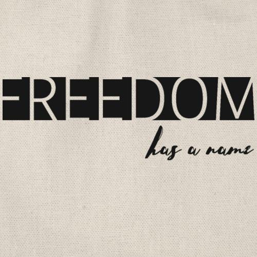 Freedom has a name - Gymnastikpåse