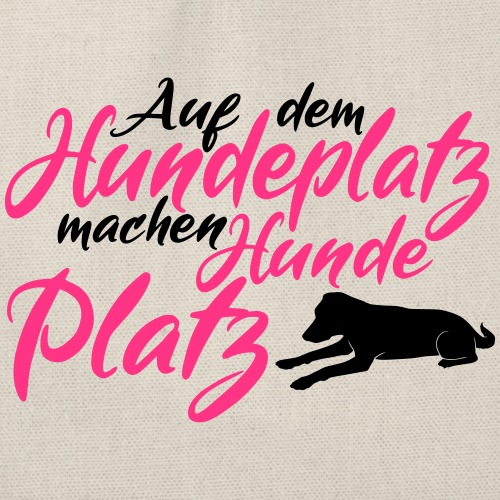 Hundeverein / Hundeplatz Geschenkidee Design Hunde - Turnbeutel