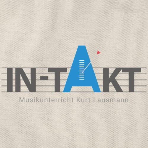 IN-TAKT Musikunterricht Logo - Turnbeutel