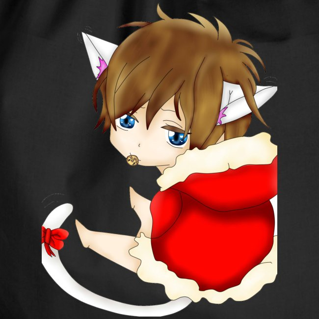 Cute Christmas Fox boy