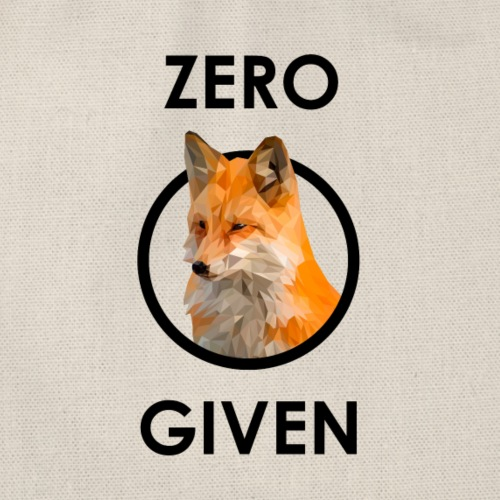 Zero Fox Given - Turnbeutel