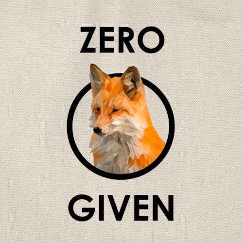 Zero Fox Given - Turnbeutel