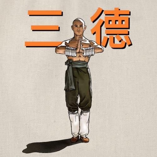 Gordon Liu - San Te - Monk (officiel) 9 prikker - Sportstaske