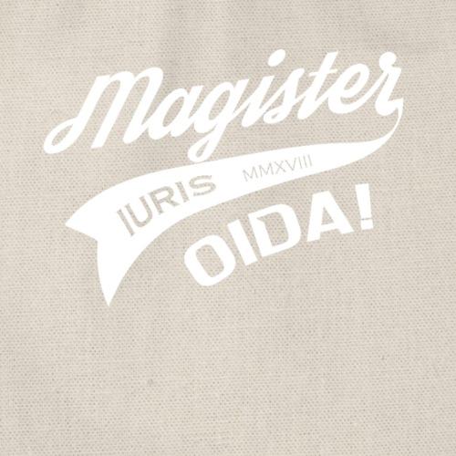 Magister Iuris Oida 2018 Jus-Absolventen T-shirt - Turnbeutel