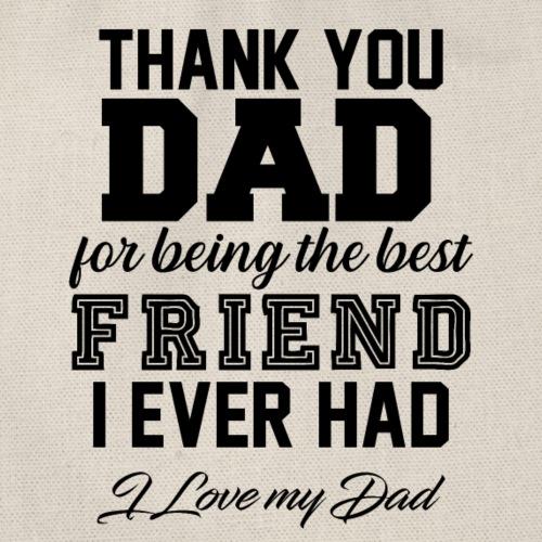 Thank You Dad - Turnbeutel