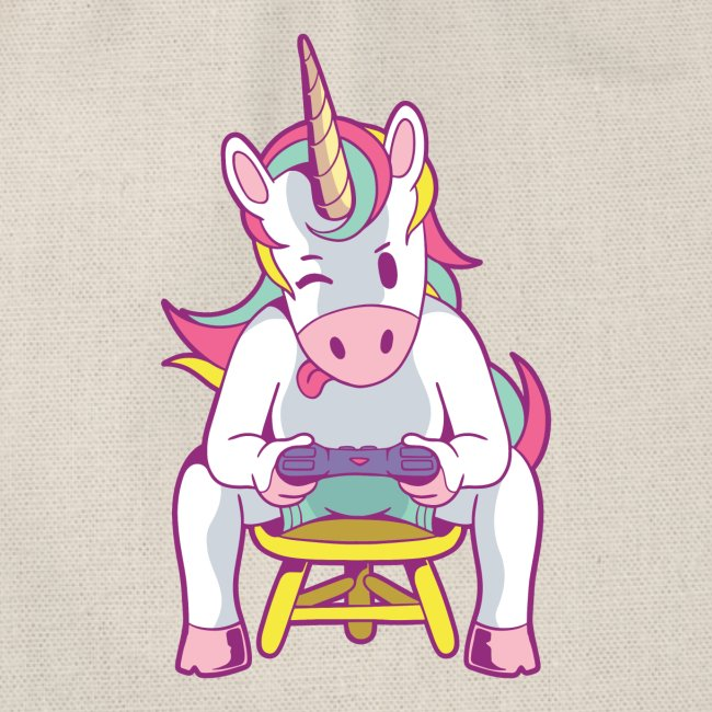 gamer unicorn
