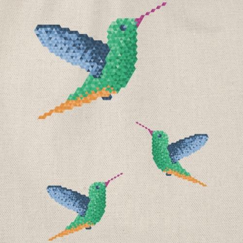 Hummingbird - Group - Drawstring Bag