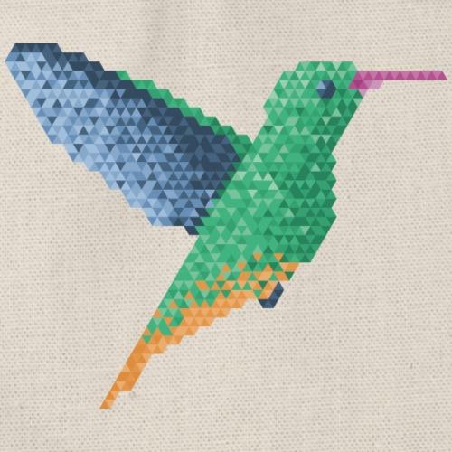 Hummingbird - Single - Drawstring Bag