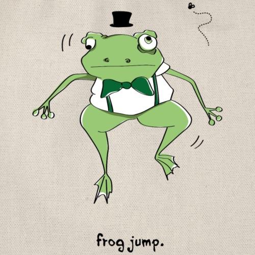 Frog Jump - Drawstring Bag