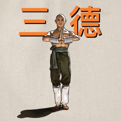 Gordon Liu - San Te - Monk (Official) 6 dots - Gymtas