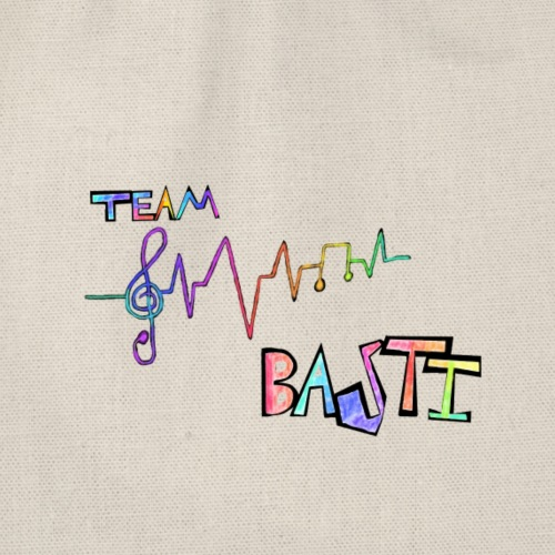 Team Basti Music/Rainbow - Turnbeutel